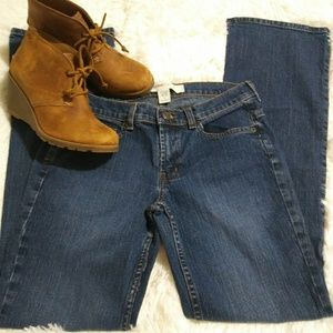 Mossimo Junior's Denim BootCut Jeans Size 7